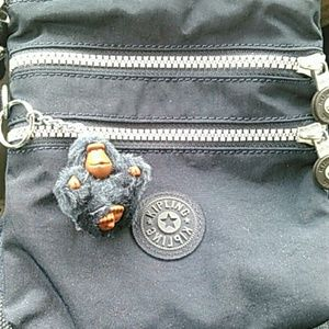 Kipling cross body navy blue bag